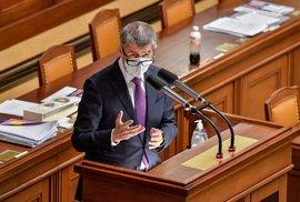 Premiér Andrej Babiš vyzval ve Sněmovně většinu poslanců, aby při závěrečném hlasování o rozpočtu opustili jednací sál a umožnili tak vláda rozpočet na příští rok schválit