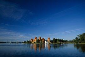 Litva - hrad Trakai