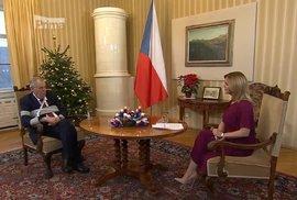 Prezident Miloš Zeman v Partii na Primě hovořil o vakcinaci