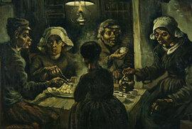Vincent van Gogh namaloval za svůj život na tisíc obrazů.