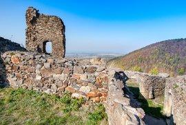 Zřícenina gotického hradu Lichnice