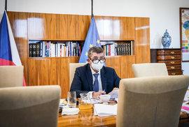 Jednání vlády (11. 1. 2021): Andrej Babiš (ANO)