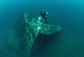 Zátoka Scapa Flow: Bojiště z 2. světové války je dnes vyhlášeným eldorádem potápěčů k vrakům lodí