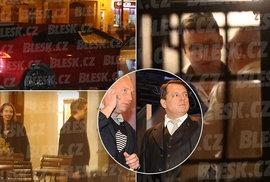 Mejdan v Teplicích. Jak to vysvětlil prominentní host Jiří Paroubek, specialista na nelegální party?