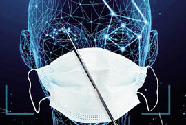 Rouška Velkého bratra: Pandemie aprogramy pro rozpoznávání tváří
