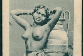 Asijské krásky na starých pohlednicích ukazují, že nahota nebyla zcela tabu ani před…