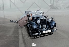 Atentát na Reinharda Heydricha, pojatý jako automobilový závod o život