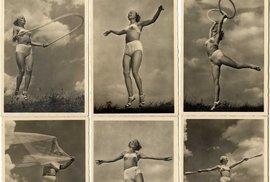 Takto se veselila Hitlerova děvčata z Bund Deutscher Mädel v době, kdy jejich…