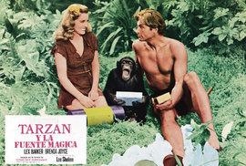 Lex Barker se zviditelnil i rolí ve filmu Tarzan