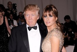 Miliardář Donald Trump s manželkou Melanií Trump