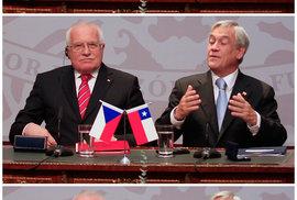 Záběry z Chile, kde si prezident přivlastňuje tamní pero, už viděly miliony lidí.