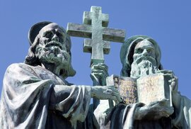 Věrozvěsti Cyril a Metoděj přišli na Velkou Moravu v roce 863. Proč jejich příchod…