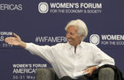 Francouzka Christine Lagardeová.