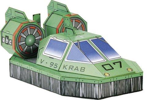 Papírová armáda ABC: Vznášedlo V-95 Krab