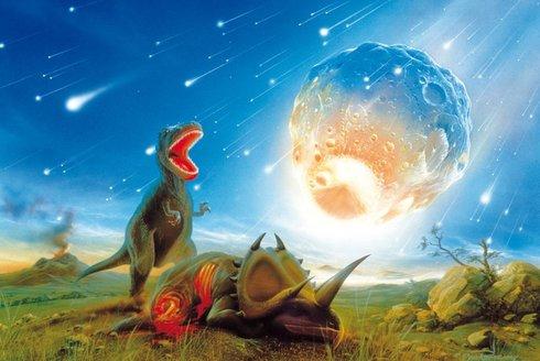 Zánik veleještěrů: Pohltila temná hmota dinosaury?