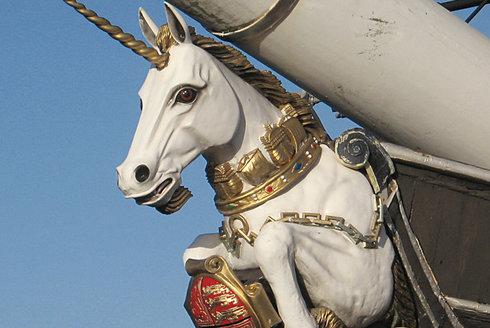 Galionová figura: Pýcha na přídi lodi