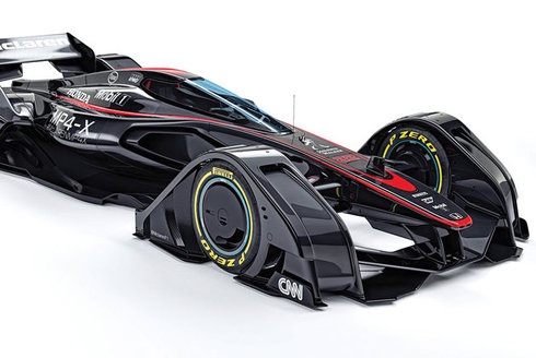 McLaren MP4-X: Formule na telepatii