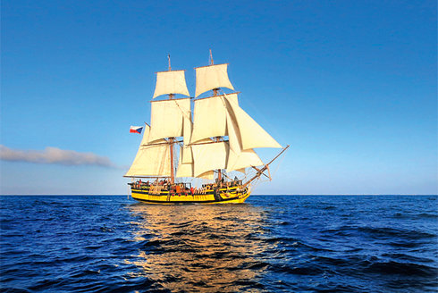 Holka na palubě! Dobrodružství na vlnách
