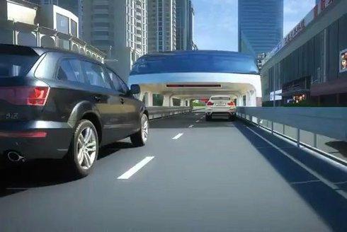 Budoucnost MHD: Průjezdný bus