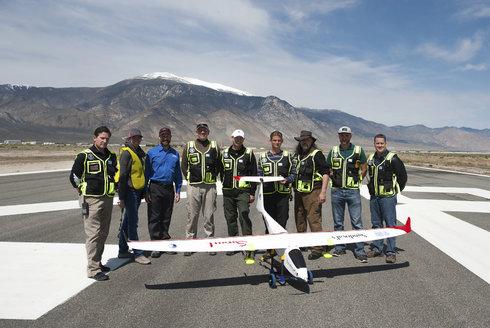 Nad Nevadou Savant: Dron jako vyvolávač deště