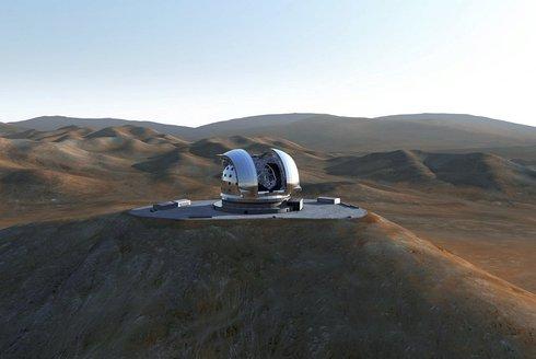 Největší astronomický dalekohled se staví v Evropě