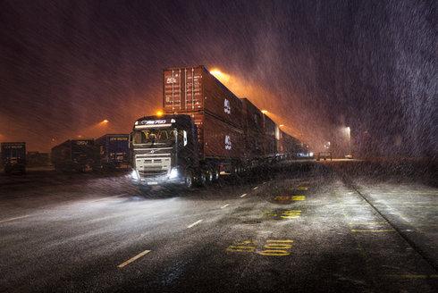 Volvo Trucks: Silák ze severu táhne rekordní náklad