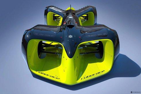 Roborace: Robotické auto závodí bez řidiče
