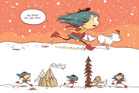 Luke Pearson: Komiksový ilustrátor, který stvořil Hildu
