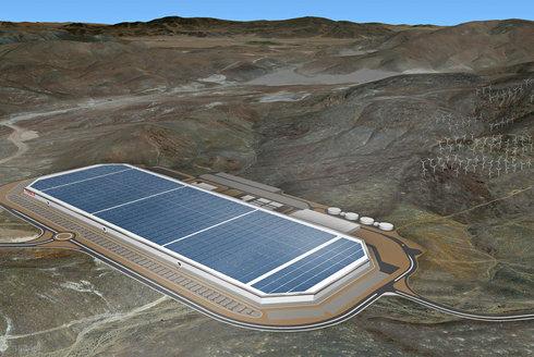 """Gigatovárna Tesla """"skutečného Iron Mana"""" Elona Muska"""