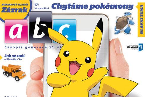 Nové číslo ABC: Ukázka z ábíčka 17 s Pokémonem