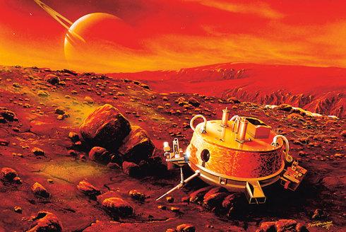 Kluzák nad Titanem: Když klasické sondy nestačí
