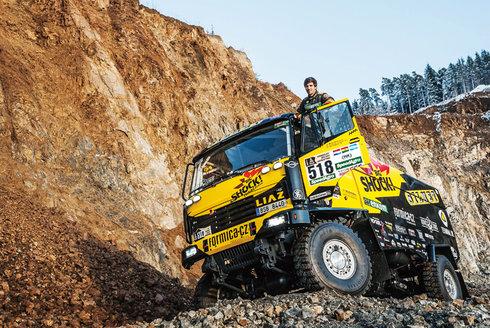 Největší a nejtěžší: S Macíkem na Dakar