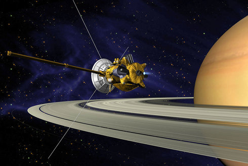 Sonda Cassini: Velké finále u planety Saturn