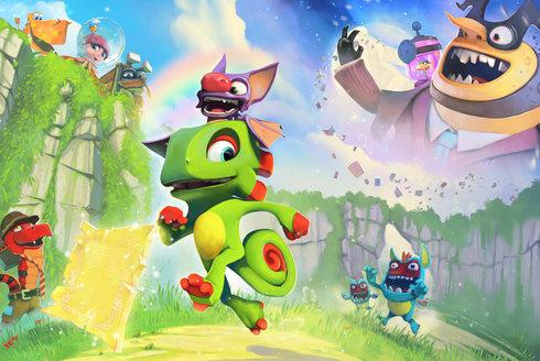 Yooka-Laylee: Recenze hry, která je hlavně o legraci