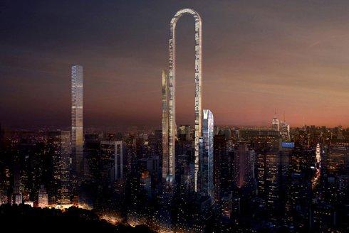 Big Bend: Obloukový mrakodrap
