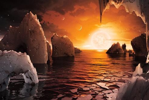 TRAPPIST-1: Kapesní planetární soustava