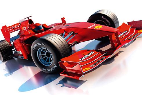 F1: Letadlo naruby