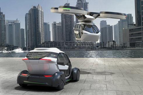 Vozítko Pop.Up: Jezdí, létá a cestuje hyperloopem