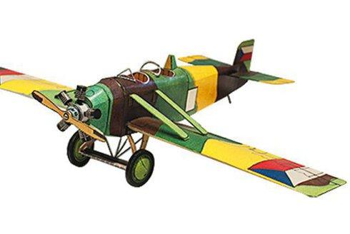 Vystřihovánky v ABC 12: Letadlo Avia BH-9 a hospoda se zvonicí