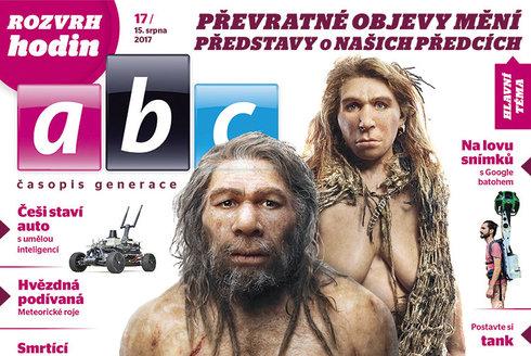ABC 17/2017: Pračlověk přepisuje učebnice!