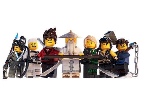 Hrdinové LEGO NINJAGO Filmu