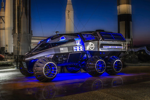 Vzhůru na Mars! Teréňák pro rudou planetu
