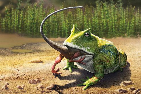 Ďábělská ropucha: Lovkyně dinosaurů