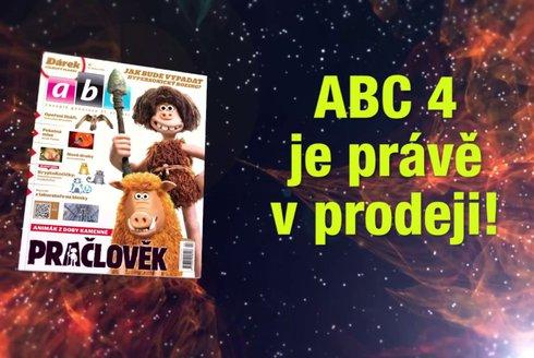 ABC 4/2018: Pračlověk z plastelíny?!!