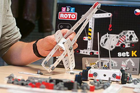 ROTO ABC: Stavební stroje