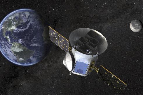 Družice TESS: Start lovce exoplanet