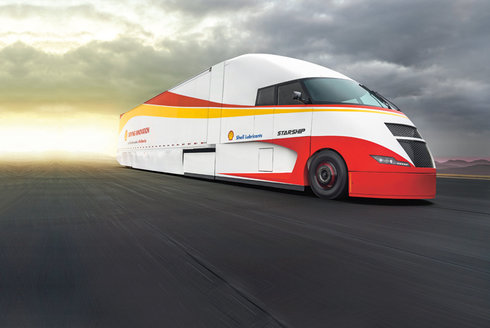 Shell Starship: Nejšetrnější hybridní kamion