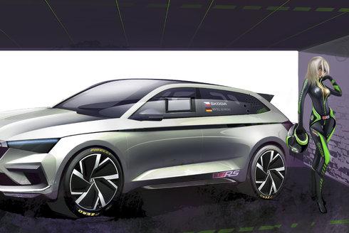 Škoda Vision RS: Sen českých designérů