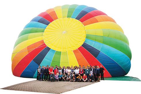 Balóny Kubíček dobývají svět: Návštěva továrny na létání