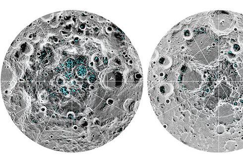 Vodní led na Měsíci: Budeme ho těžit?